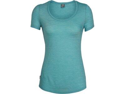 """ICEBREAKER Damen T-Shirt """"Wmns Sphere S/S Scoop"""" Blau"""