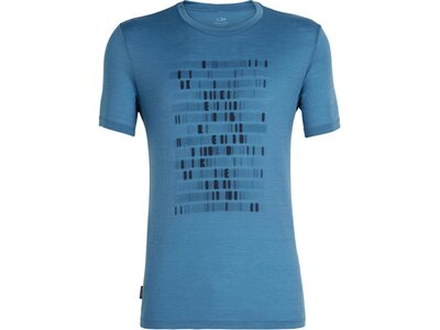 ICEBREAKER Herren T-Shirt Tech Lite SS Crewe Sequence Blau