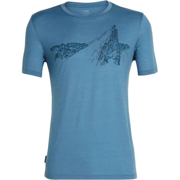 ICEBREAKER Herren T-Shirt Tech Lite SS Crewe La Meije