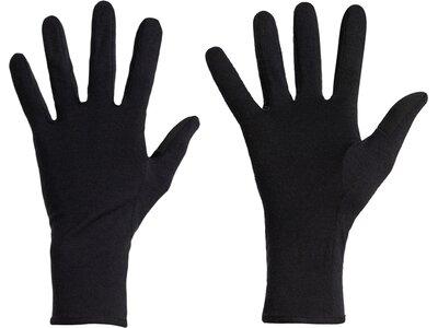 ICEBREAKER Herren Handschuhe Adult 260 Tech Glove Liner Schwarz