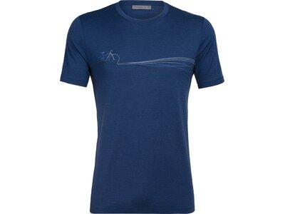 "ICEBREAKER Herren T-Shirt ""Tech Lite SS"" Blau"