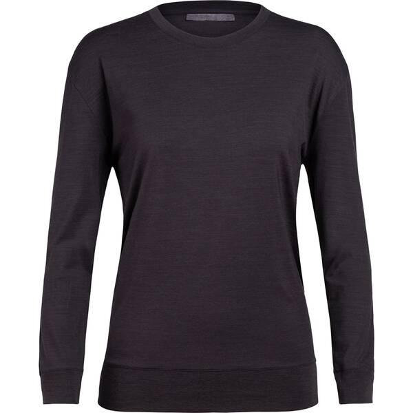 ICEBREAKER Damen Shirt  Nature Dye Drayden LS Crewe