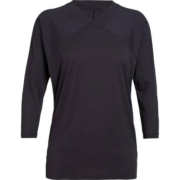 ICEBREAKER Damen Shirt  Nature Dye Galen 3Q Sleeve
