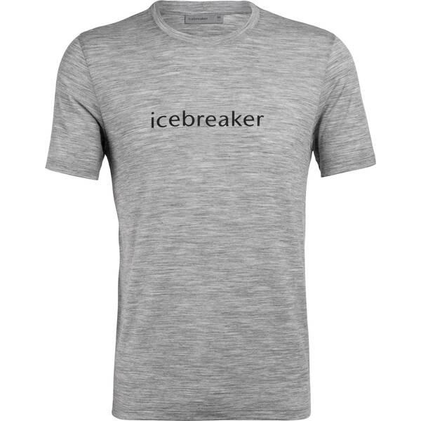 ICEBREAKER Herren Shirt  Icebreaker Logo SS Crewe Icebreaker Wordmark