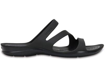 CROCS Damen Swiftwater Sandal W BlJ/Pwh Silber