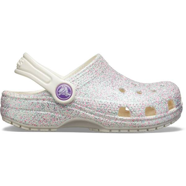 CROCS Kinder Classic Glitter Clog K Sil