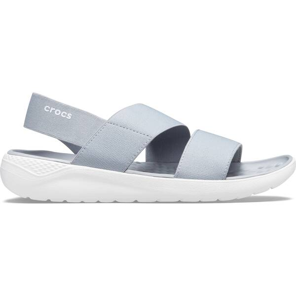 CROCS Damen LiteRide Stretch Sandal W Lgr/Whi