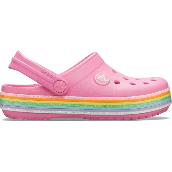 CROCS Mädchen Crocband Rainbow Glitter Clg K PLem