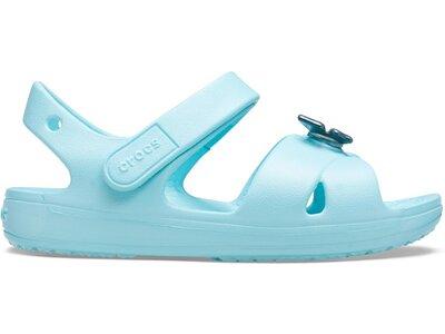 CROCS Mädchen Classic Cross Strap Sandal PS IBlu Blau