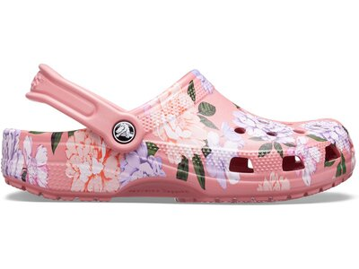 CROCS Classic Printed Floral Clog Blsm Silber