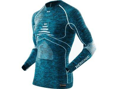X-BIONIC Herren Shirt MAN ACC_EVO MELANGE UW Blau