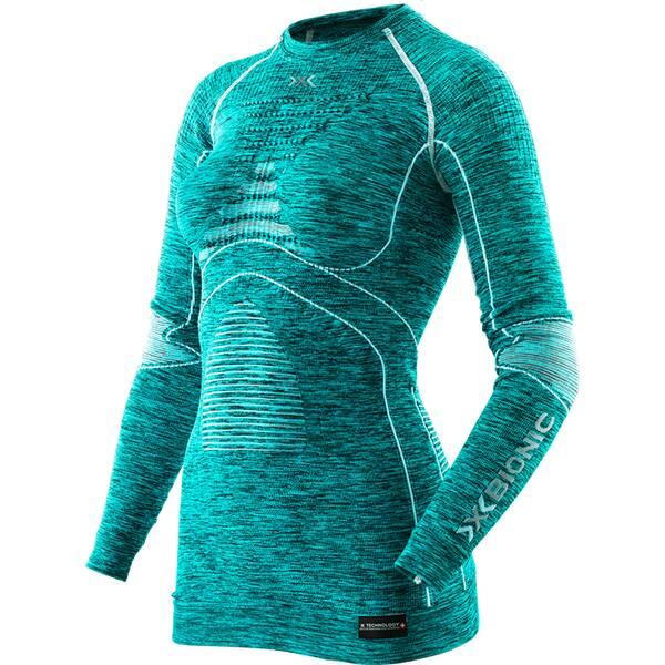 X-BIONIC Damen Shirt LADY ACC_EVO MELANGE UW