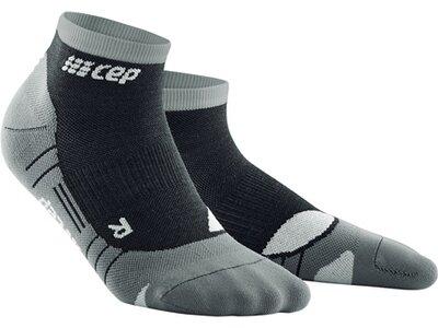 CEP Damen Hiking Light Merino Low Cut Socks Schwarz