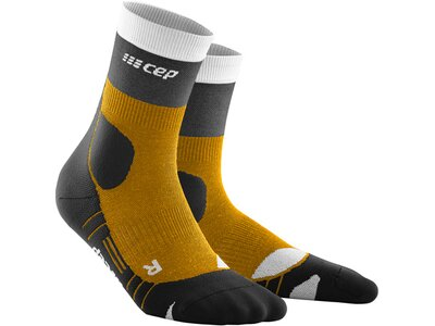 CEP Damen Hiking Light Merino Mid Cut Socks Braun