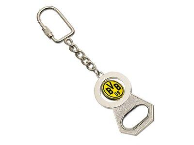 BVB-Schlüsselanhänger mit Flaschenöffner Gelb