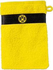 BVB-Waschhandschuh (gelb)
