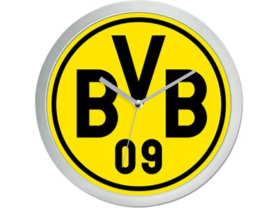 BVB-Wanduhr Gelb
