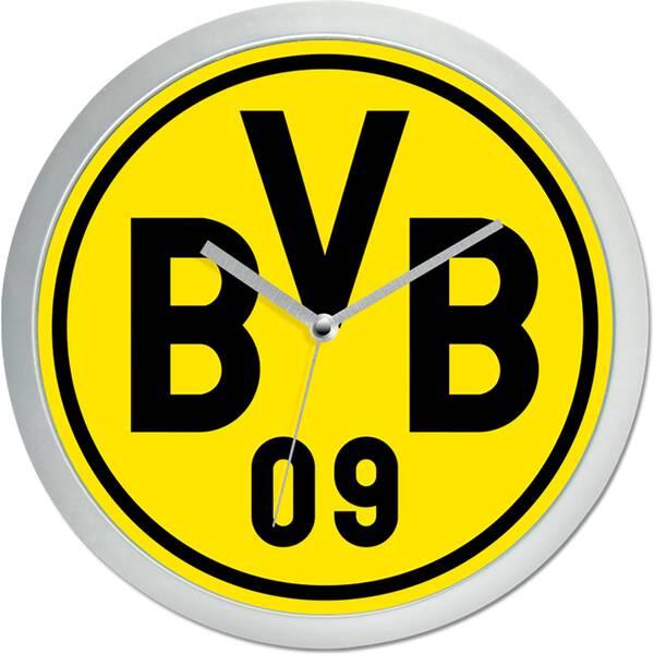 BVB 09 BVB-Wanduhr in Gelb