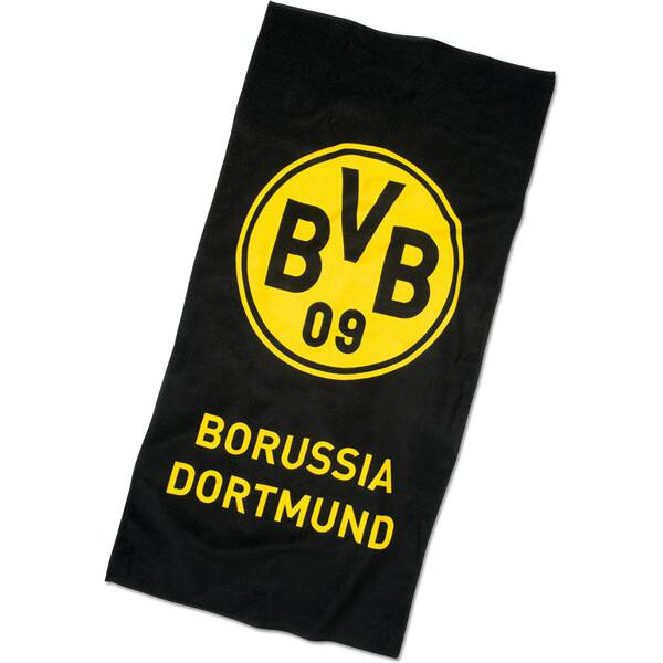 BVB-Strandtuch mit Emblem