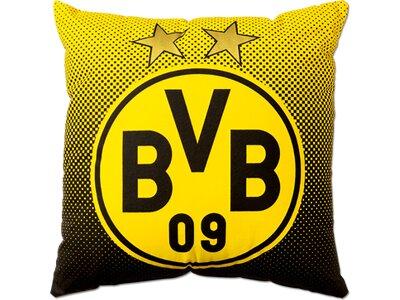 BVB-Kissen mit Emblem (40x40cm) Gelb