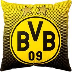 BVB-Kissen mit Emblem (40x40cm)