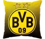 Vorschau: BVB-Kissen mit Emblem (40x40cm)