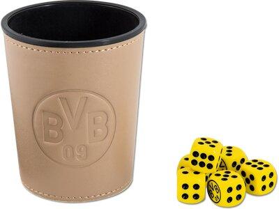 BVB-Würfelbecher-Set Gelb