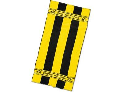 BVB-Handtuch mit Blockstreifen 50x100cm Gelb