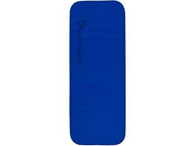 SEA TO SUMMIT Selbstaufblasende Schlafmatte Comfort Deluxe Self Inflating Mat Large Wide Indigo Blau