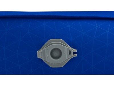 SEA TO SUMMIT Selbstaufblasende Schlafmatte Comfort Deluxe Self Inflating Mat Regular Wide Indigo Blau