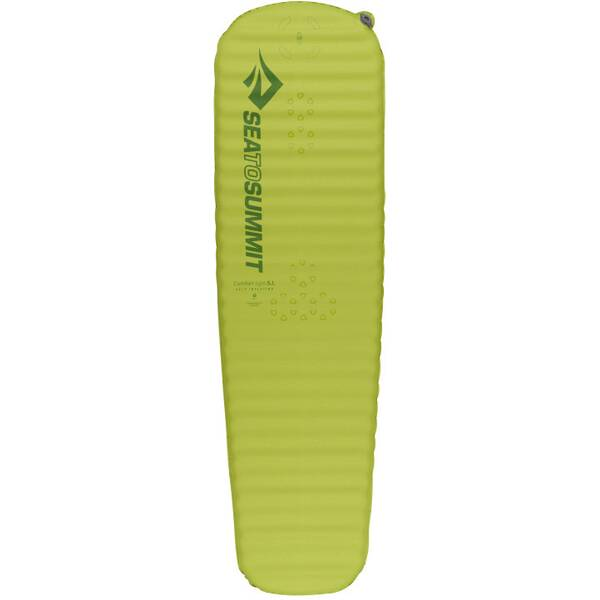 SEA TO SUMMIT Selbstaufblasende Schlafmatte Comfort Light Self Inflating Mat Regular Green