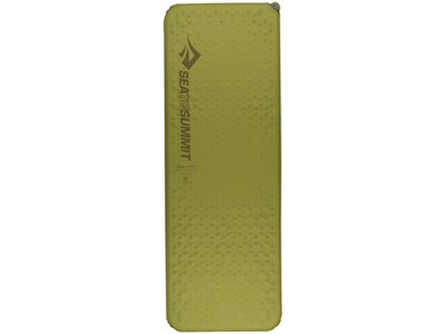 SEA TO SUMMIT Selbstaufblasende Schlafmatte Camp Mat Self Inflating Mat Rectangular Regular Wide Oli Grün