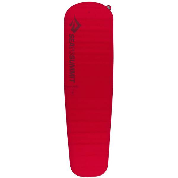 SEA TO SUMMIT Selbstaufblasende Schlafmatte Comfort Plus Self Inflating Mat Regular Red