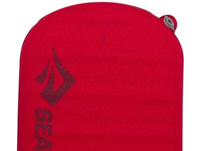 SEA TO SUMMIT Selbstaufblasende Schlafmatte Comfort Plus Self Inflating Mat Regular Red Rot