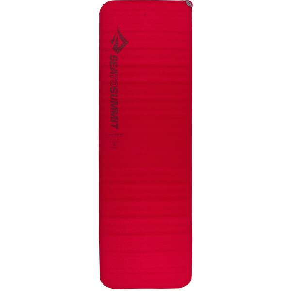 SEA TO SUMMIT Selbstaufblasende Schlafmatte Comfort Plus Self Inflating Mat Rectangular Large Red