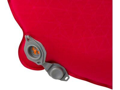 SEA TO SUMMIT Selbstaufblasende Schlafmatte Comfort Plus Self Inflating Mat Rectangular Regular Wide Rot