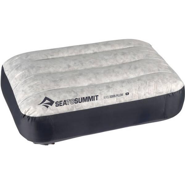 SEA TO SUMMIT Reisekissen Aeros Down Pillow Regular Grey