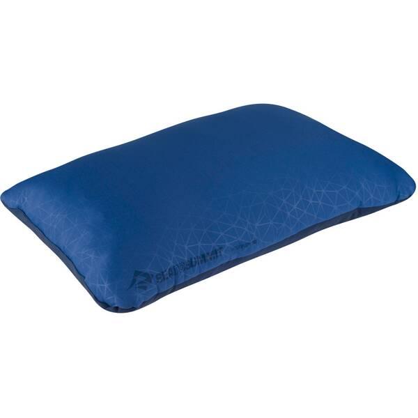 SEA TO SUMMIT Reisekissen FoamCore Pillow Deluxe Navy Blue