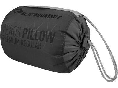 SEA TO SUMMIT Reisekissen Aeros Premium Pillow Regular Lime Grau