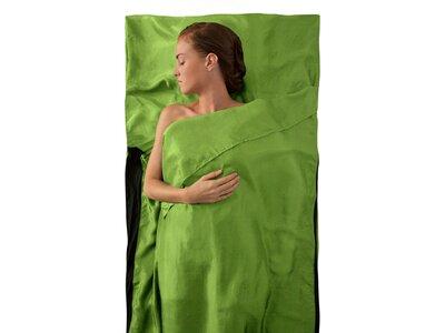 SEA TO SUMMIT Schlafsack Silk Stretch Liner - Traveller (with Pillow slip) Green Grün