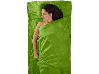 SEA TO SUMMIT Schlafsack Silk/Cotton Travel Liner Traveller (with Pillow Slip) Green Grün
