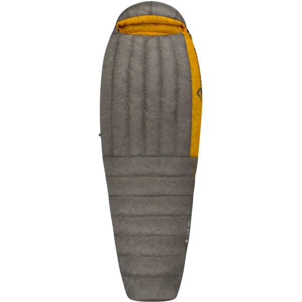 SEA TO SUMMIT Daunenschlafsack Spark SpII - Long Dark Grey / Yellow