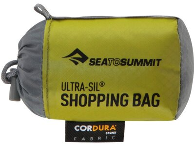 SEA TO SUMMIT Tasche Ultra-Sil Shopping Bag Black Braun