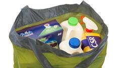 Vorschau: SEA TO SUMMIT Tasche Ultra-Sil Shopping Bag Lime