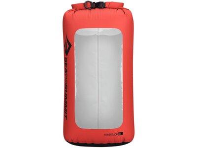 SEA TO SUMMIT Tasche View Dry Sack - 20 Liter Red Silber