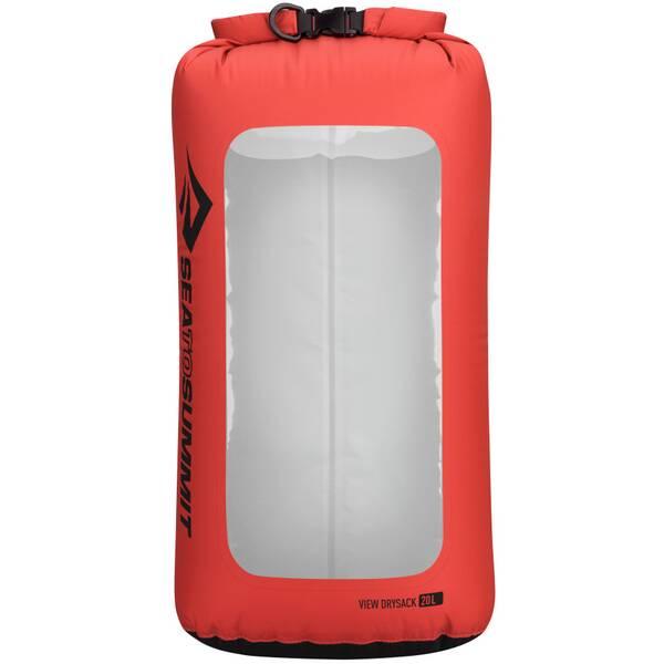 SEA TO SUMMIT Tasche View Dry Sack - 20 Liter Red