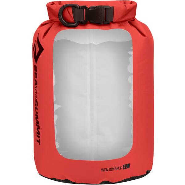 SEA TO SUMMIT Tasche View Dry Sack - 4 Liter Red