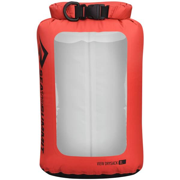 SEA TO SUMMIT Tasche View Dry Sack - 8 Liter Red
