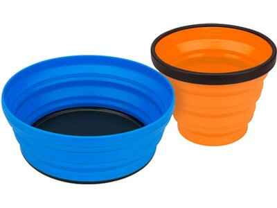 SEA TO SUMMIT Camping Zubehör X-Set: 2-Pce (X-Mug,X Bowl & Storage Pouch) Orange / Lime Orange