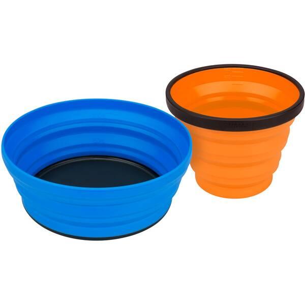 SEA TO SUMMIT Camping Zubehör X-Set: 2-Pce (X-Mug,X Bowl & Storage Pouch) Orange / Lime